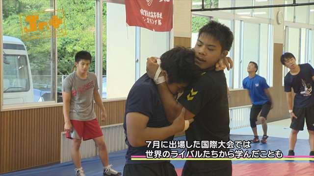 【Jr.+】福井国体期待の星 レスリング 小西 温也 選手