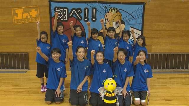 【Jr.+】女子ミニバスケットボールチーム 宮崎QueenBee