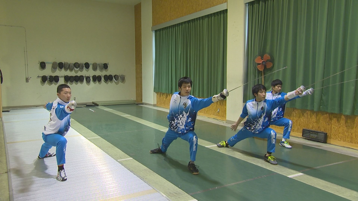 【Jr.+】福井国体期待の星☆ 男子フェンシング競技