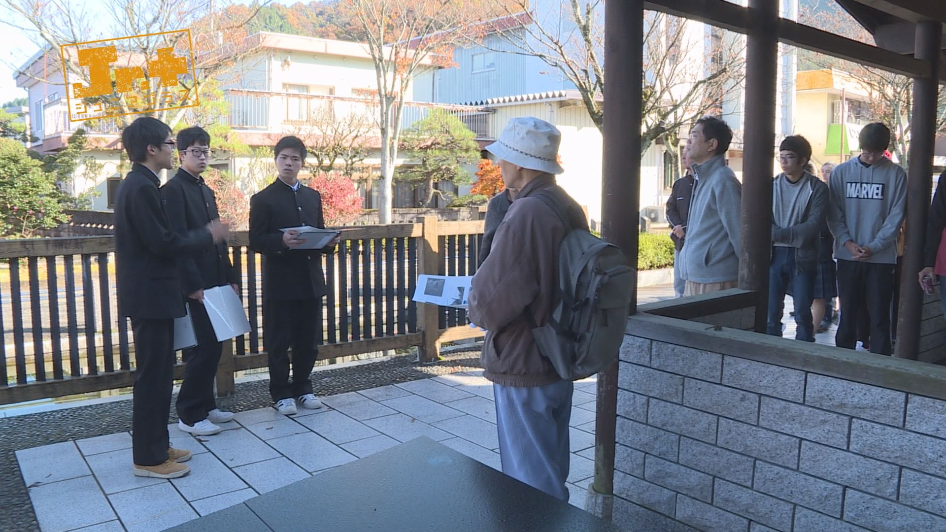 【Jr.+】武工生が企画したまち歩きツアー「ブラタケフ」