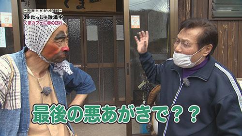 【おたっしゃ珍道中】くまカフェに春の訪れの巻
