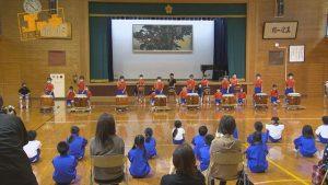 【Jr.+】萩野小学校 ふるさと太鼓発表会