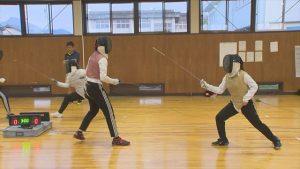 【Jr.+】高校総体に向け!!武生商業高校・武生商工高校フェンシング部